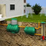 Септик. Обустройство внутренней системы канализации