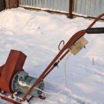 Как сделать электрический снегоуборщик своими руками
