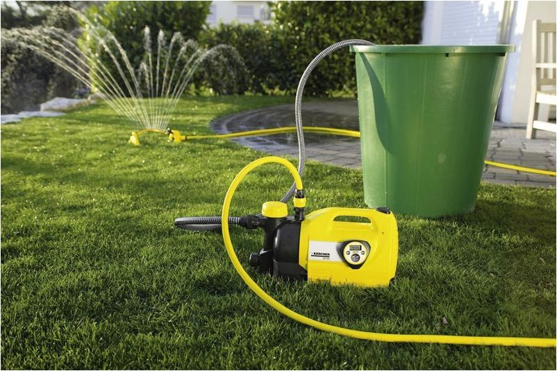 мотопомпу для полива огорода