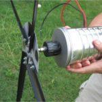 Как сделать и установить ветрогенератор своими руками