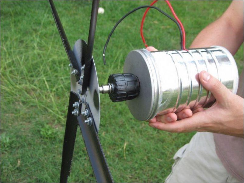 Как сделать и установить ветрогенератор