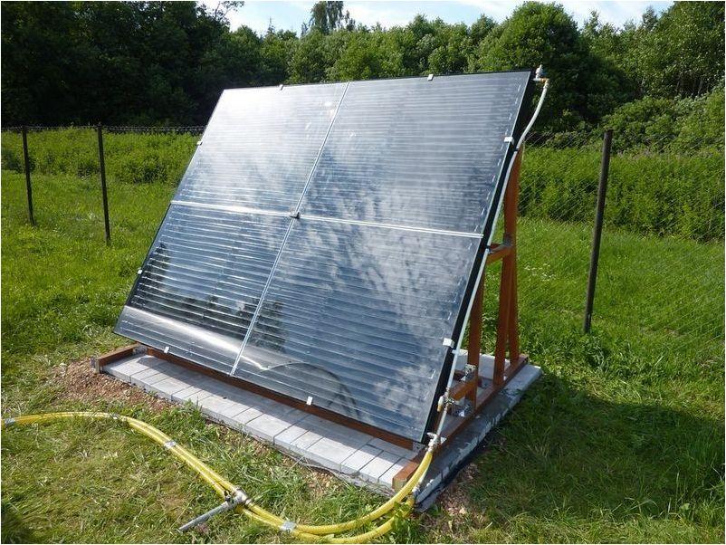 Как сделать солнечный коллектор
