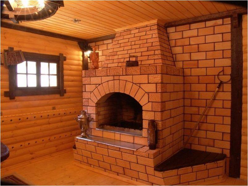 Самодельная кирпичная печь для водяного отопления дома