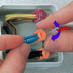 Виды соединения электрических проводов