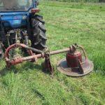 Самодельная роторная косилка для трактора и ручная косилка