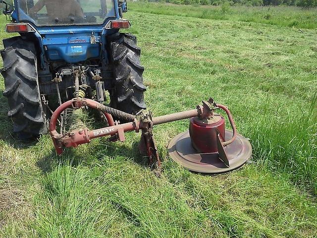 Самодельная роторная косилка для трактора